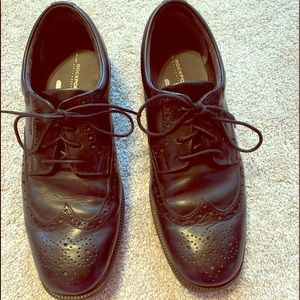 Men's size 10 Rockport dress shoes